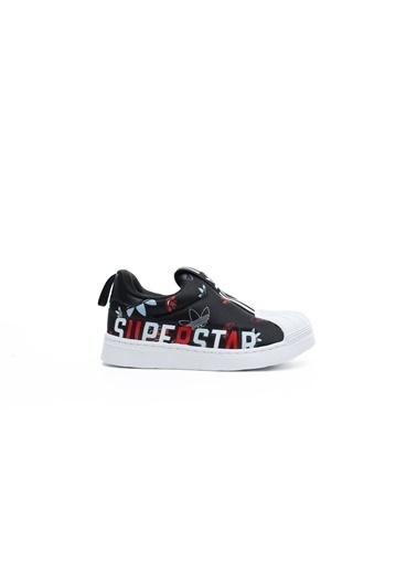 adidas Unisex Bebek Superstar 360 X Sneakers FW0710.SİYAH Siyah